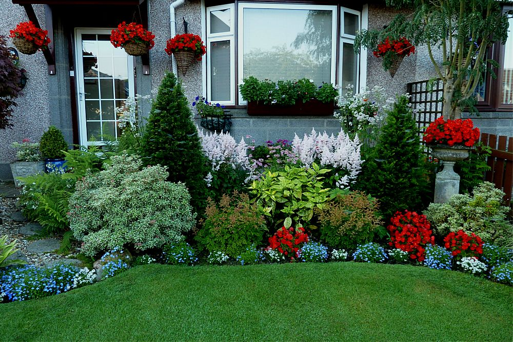 Looking back at aberdeen gardening for August garden designs